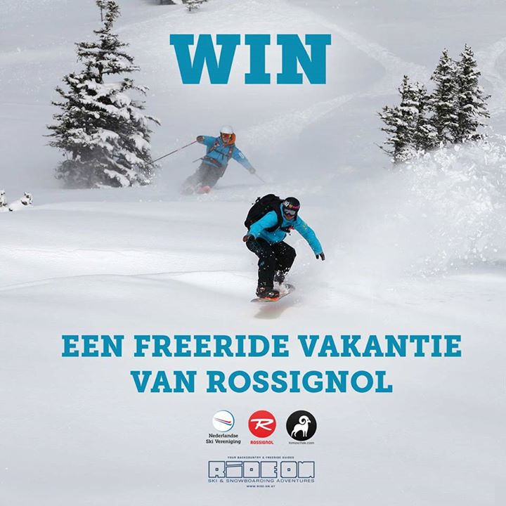 win freeride vakantie met Rossignol en Daniel Tomaschek